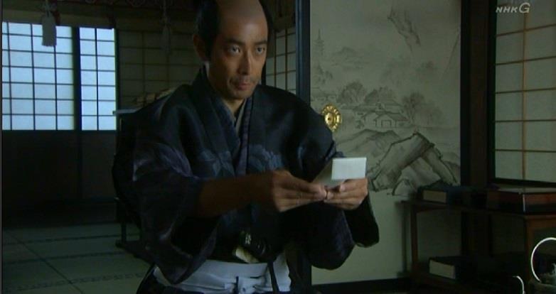 月代を剃った矢沢頼幸 真田丸