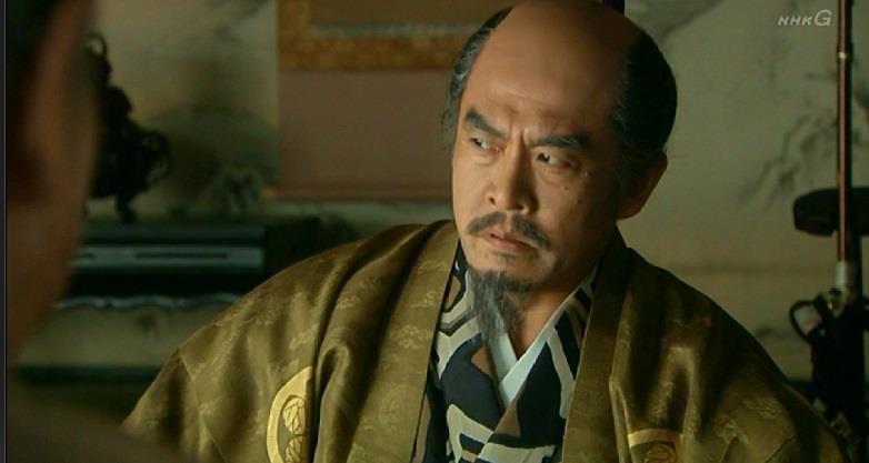 難しい顔の徳川家康 真田丸