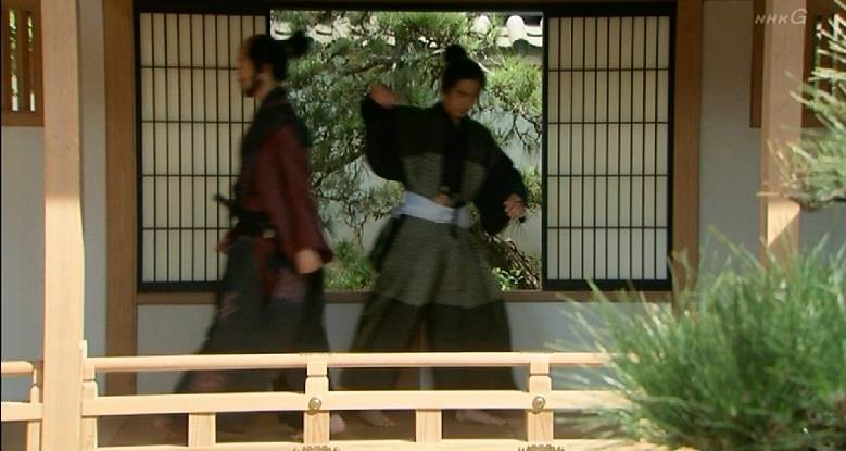 加藤清正を毒殺する服部半蔵 真田丸