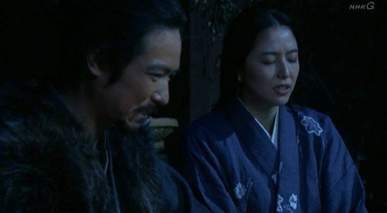 「氏政様を説き伏せに、小田原城に忍び込んだみたいだけど、氏政様がお城を明け渡したのは、あなたの力では無いですから、後から会いに行ったなんとか官兵衛さまのお手柄ですから」きり 真田丸