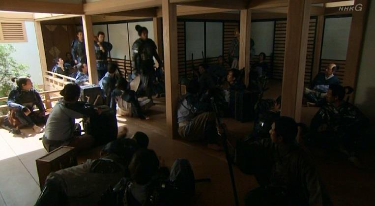 「大阪城は、来たる徳川との戦に備えて、各地から集められた浪人たちで溢れかえっている」 真田丸
