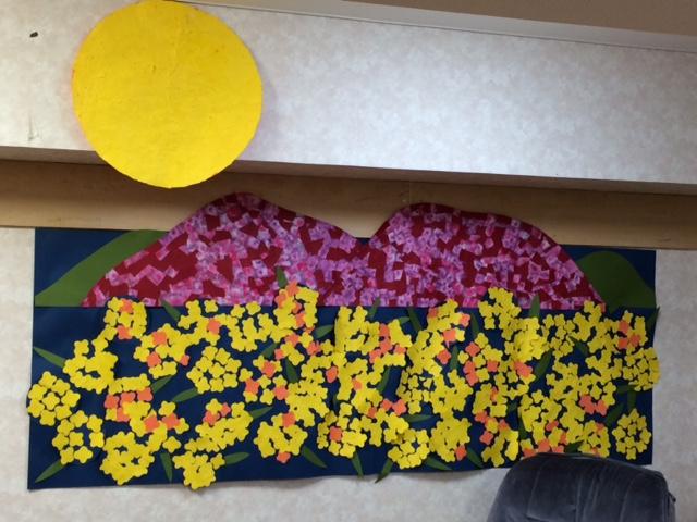 春の壁絵1