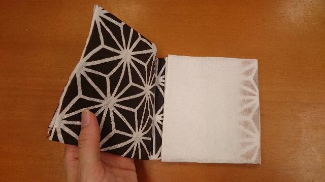 はぎれハンカチ折り方3