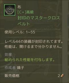 5月22日マスターベルト作成