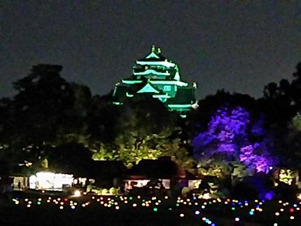 8月26日後楽園ライトアップ3