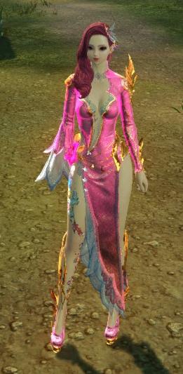 8月31日ロータスドレス薄朱の桜色
