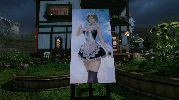 9月8日夢の絵画メイド