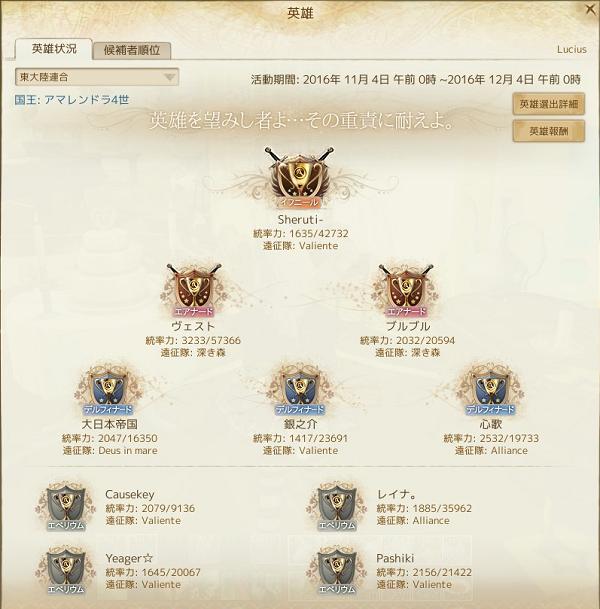 11月4日東新英雄