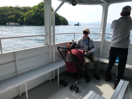 伊根湾めぐり遊覧船16