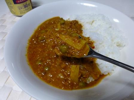 印度風牛ひき肉のキーマカレー5
