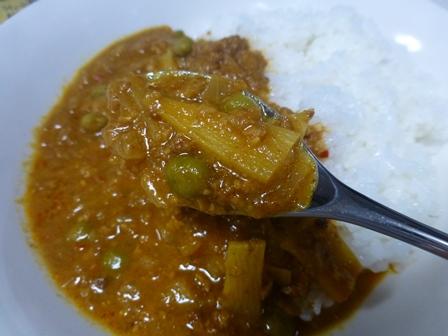 印度風牛ひき肉のキーマカレー6