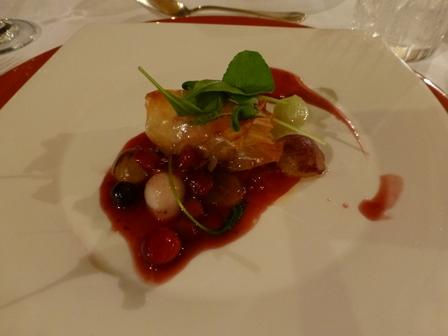ホテル川久夕食18