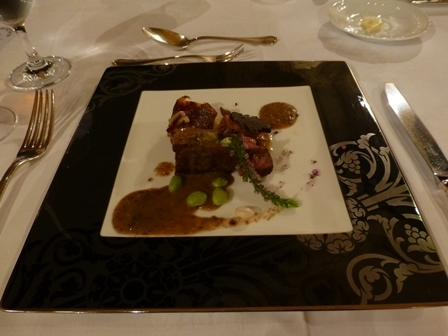 ホテル川久夕食25