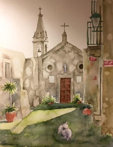 シチリアリパリ島教会