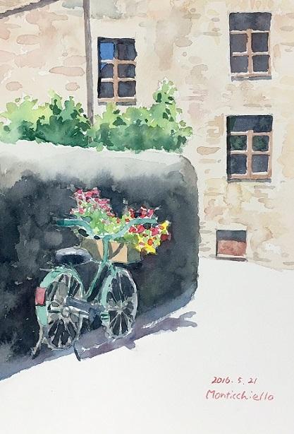 モンテキエッロ4自転車