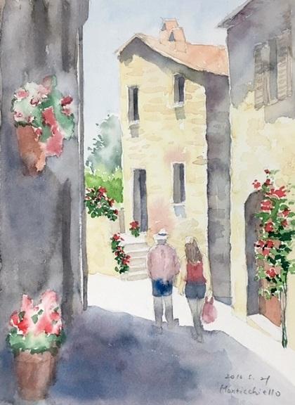 モンテキエッロ3花の階段