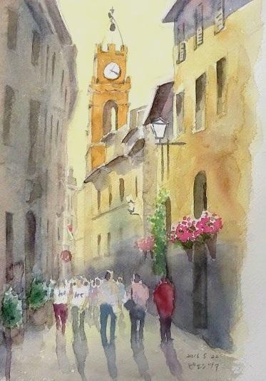 ピエンツア教会2