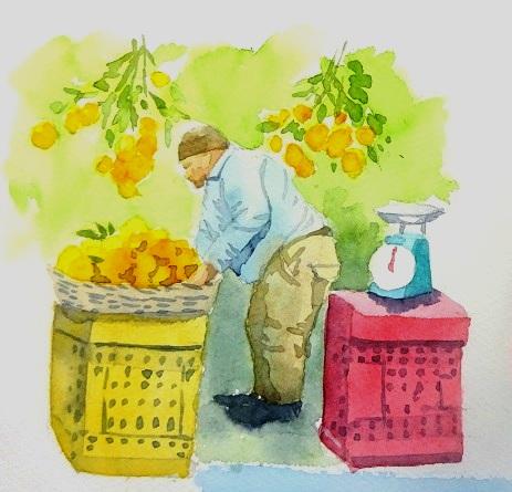 おじさん5オレンジ