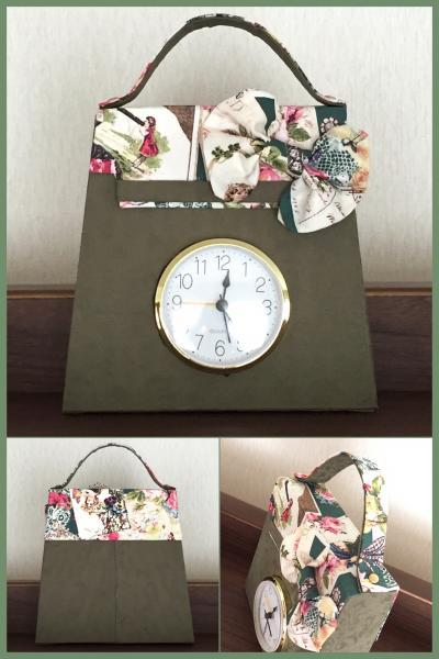バッグ型時計 (1)