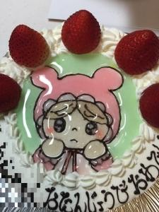 お誕生日ケーキ 2016 004