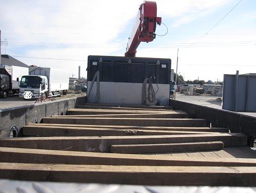 「トラック荷台枕木写真」の画像検索結果