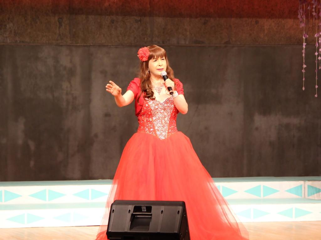 赤いドレス舞台A(4)