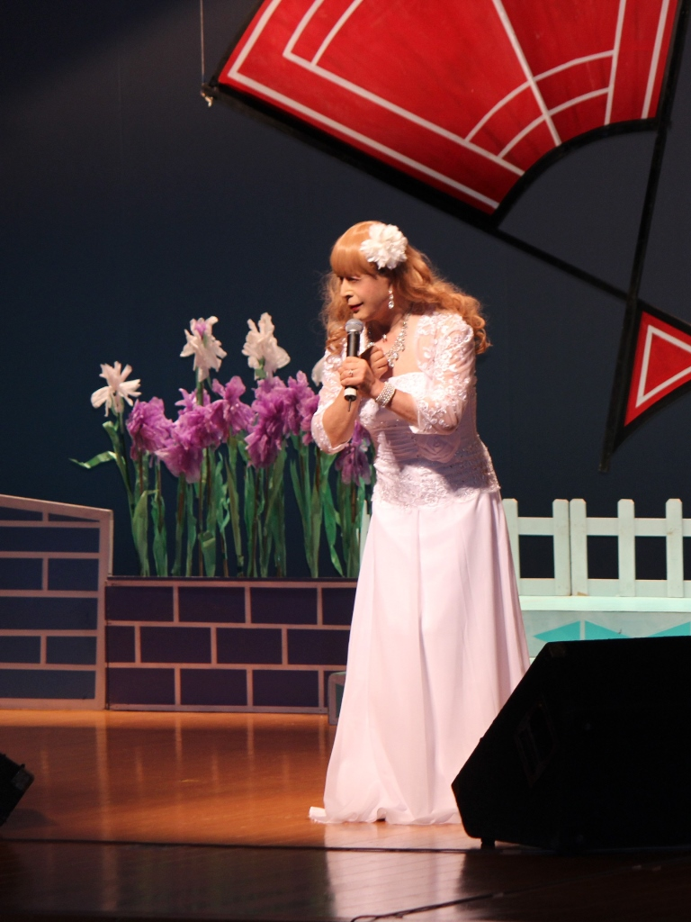 ホワイトドレス舞台(4)