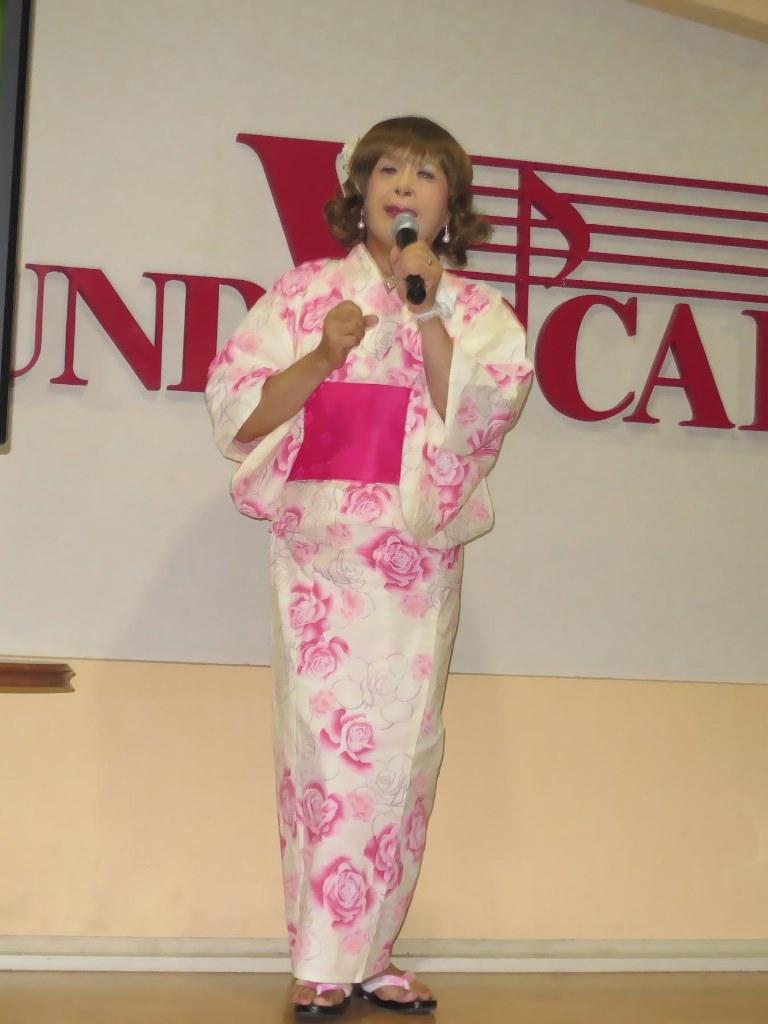 ピンク浴衣カラオケB(2)
