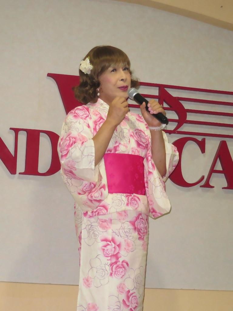ピンク浴衣カラオケB(3)