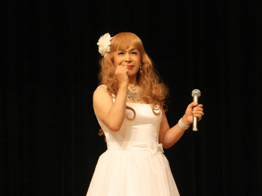 白ショートドレス舞台(7)