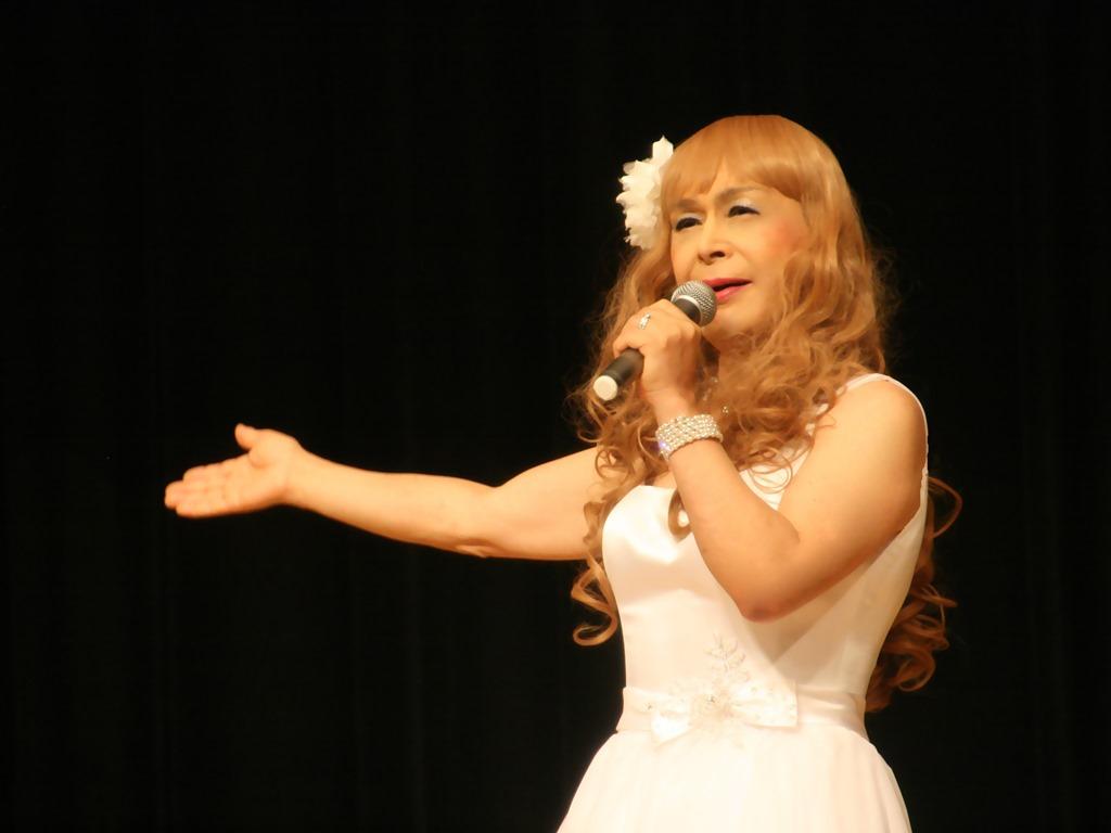 白ショートドレス舞台(8)