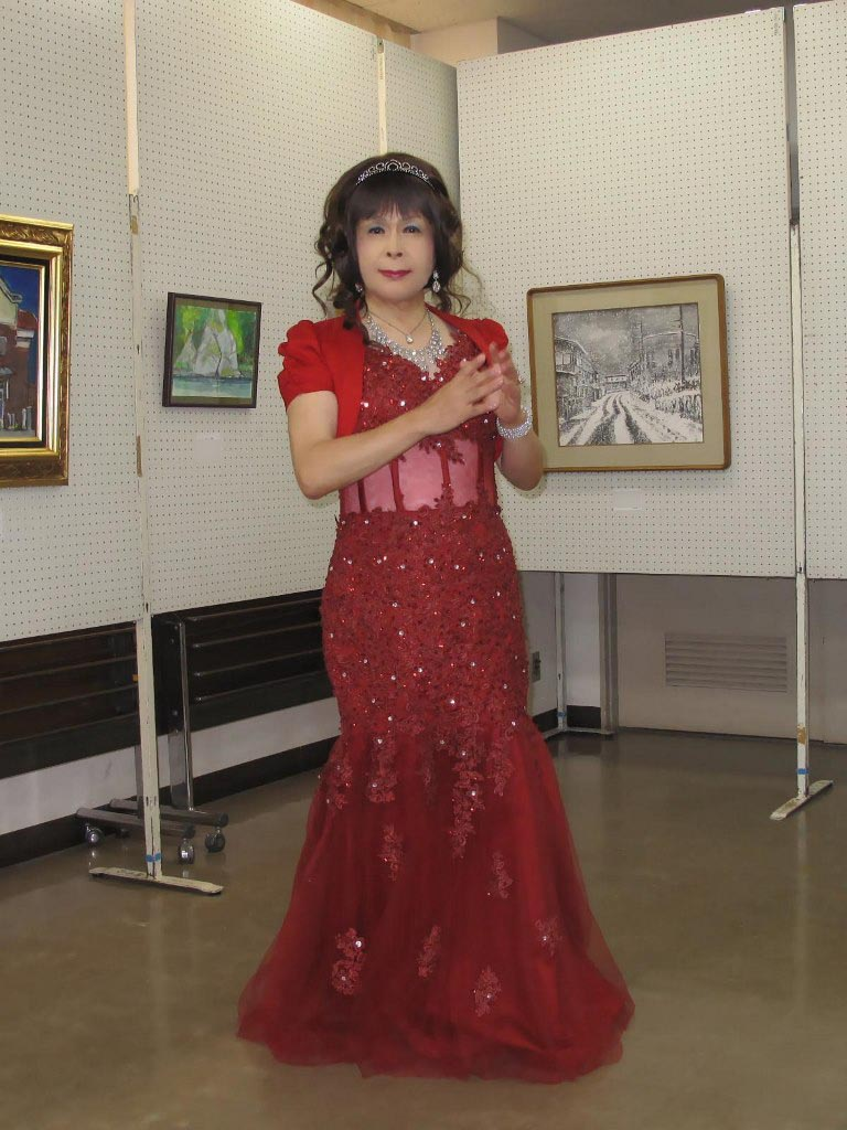 赤いドレス控室A(1)