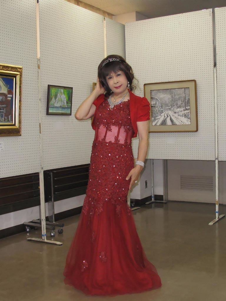 赤いドレス控室A(3)