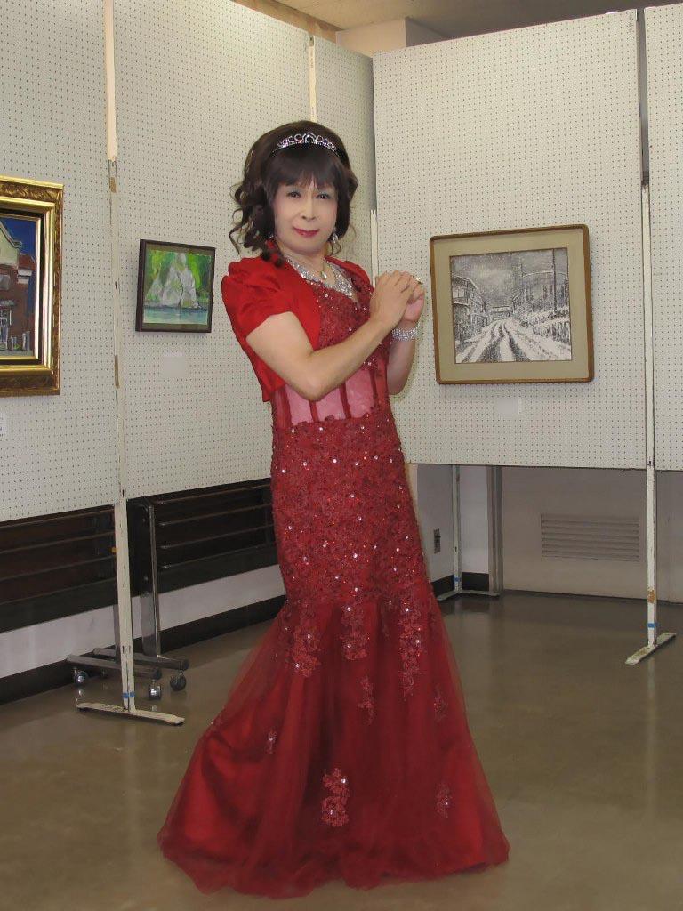 赤いドレス控室A(4)