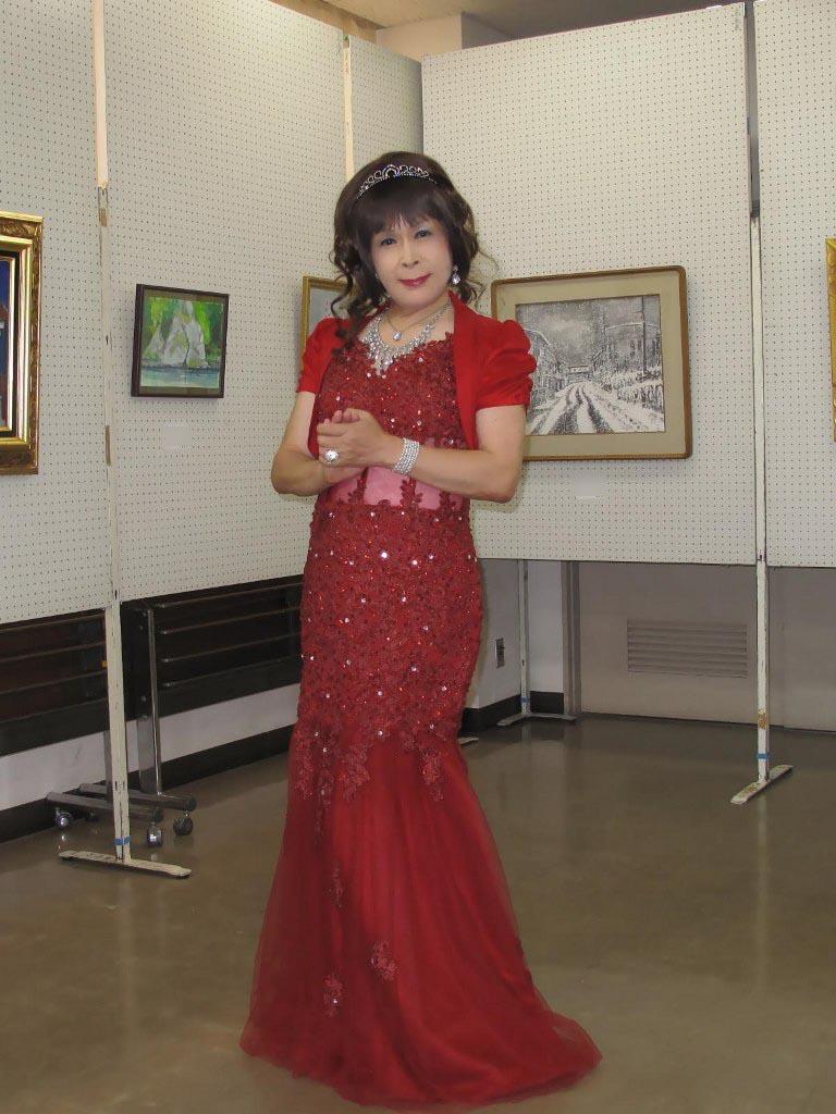 赤いドレス控室A(5)