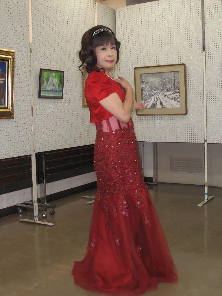 赤いドレス控室A(6)