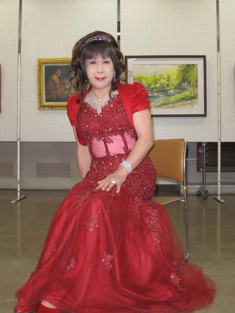 赤いドレス控室C(5)