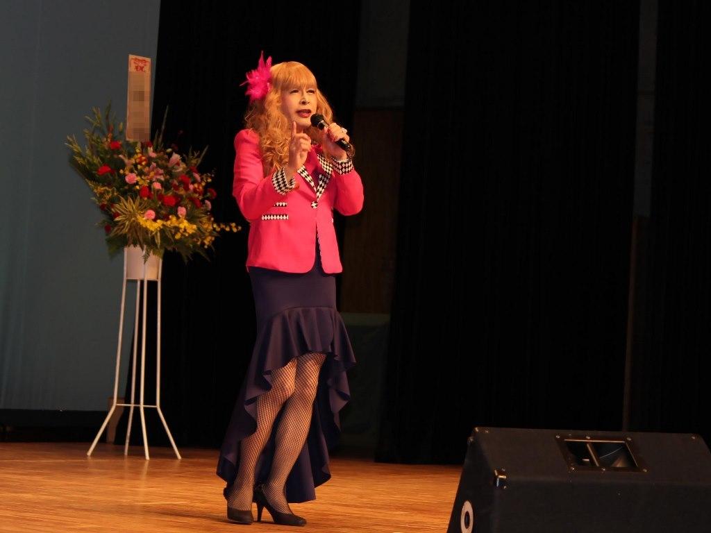 ピンクジャケットマーメイドスカート舞台A(1)