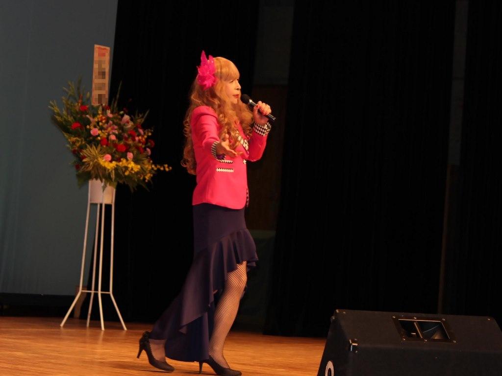 ピンクジャケットマーメイドスカート舞台A(3)