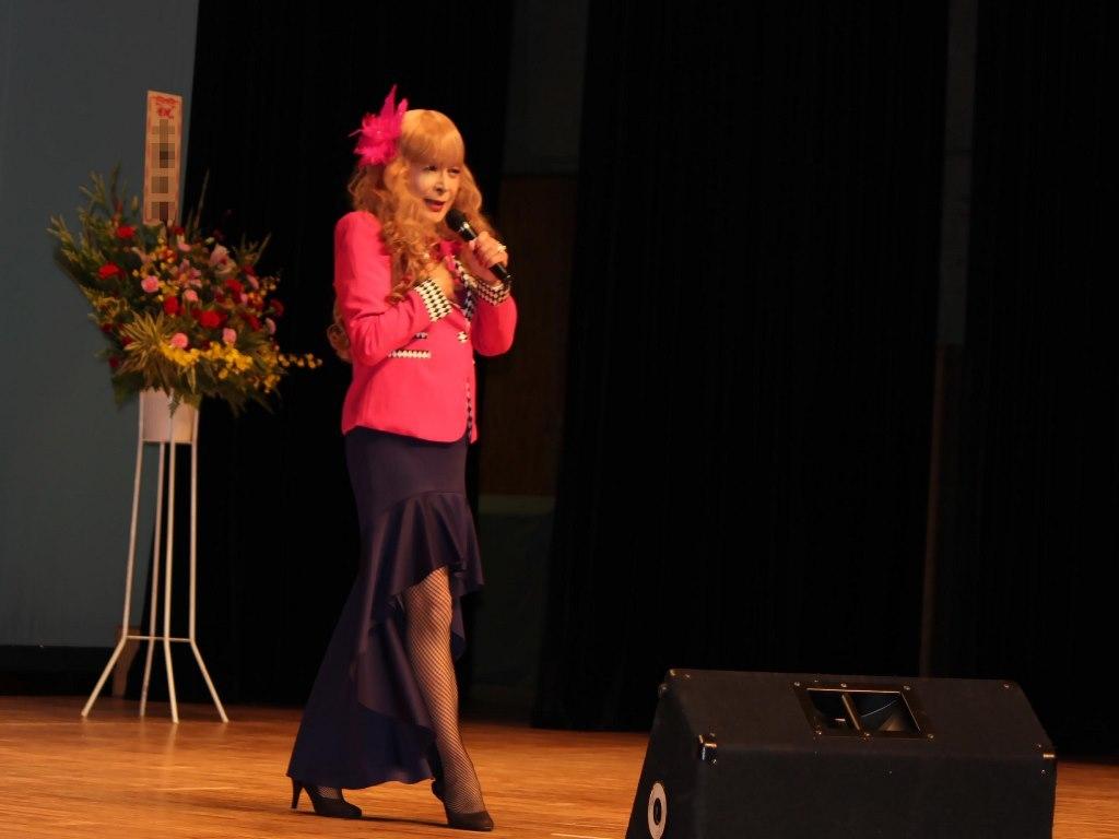 ピンクジャケットマーメイドスカート舞台A(4)