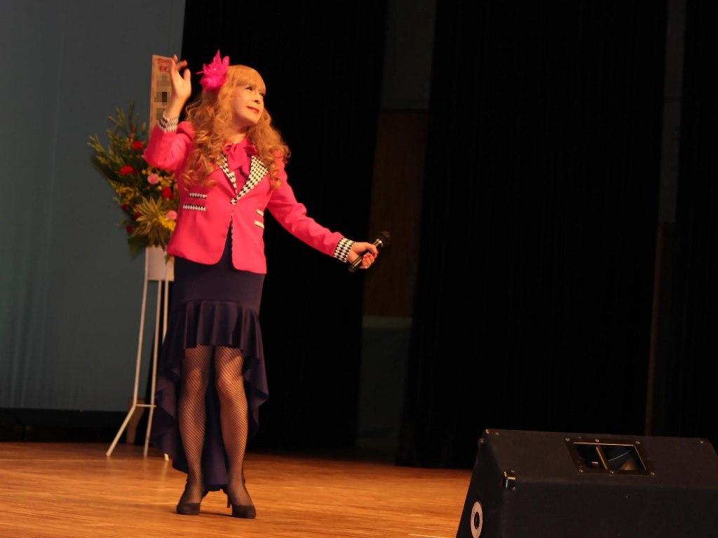 ピンクジャケットマーメイドスカート舞台A(5)