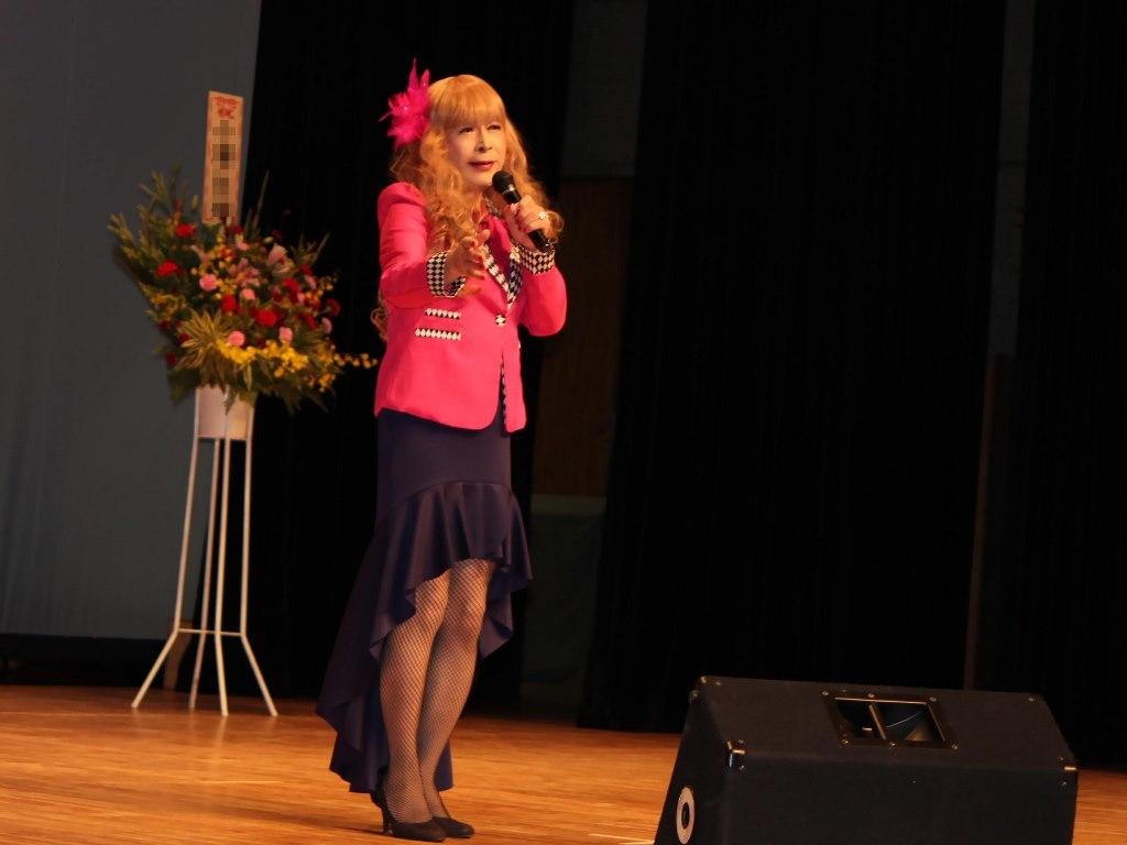 ピンクジャケットマーメイドスカート舞台A(6)