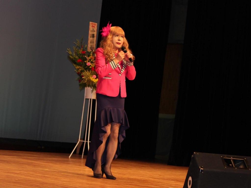 ピンクジャケットマーメイドスカート舞台A(7)