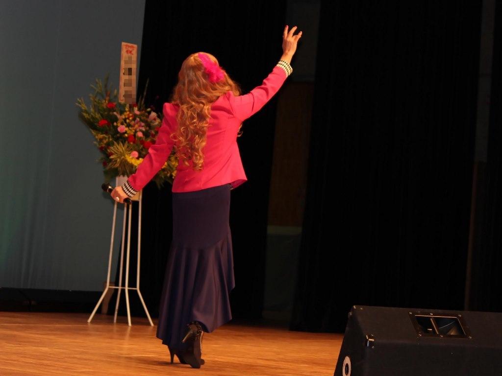 ピンクジャケットマーメイドスカート舞台A(9)