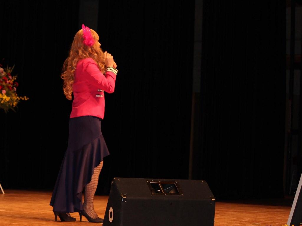 ピンクジャケットマーメイドスカート舞台A(8)