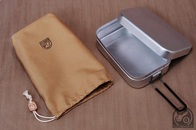 Trangia Mess Aluminium Tin pouch トランギア ラージメスティン 収納袋  sarupouch サルパウチ