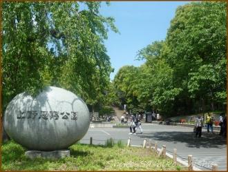 20160428  公園  1  上野から根津