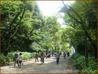 20160428  公園  3  上野から根津