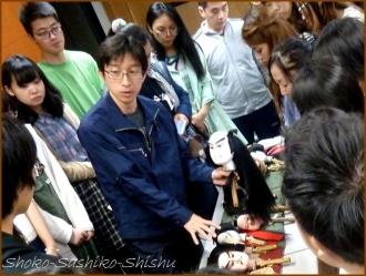 20160521  学生  3  文楽人形