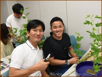 20160608  学生・男性  3  生け花